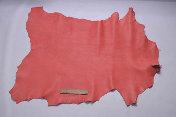 Кожа козы, розовая с лёгким мраморным эффектом, 48 дм2, Conceria Gaiera GIOVANNI S.p.A.-108829