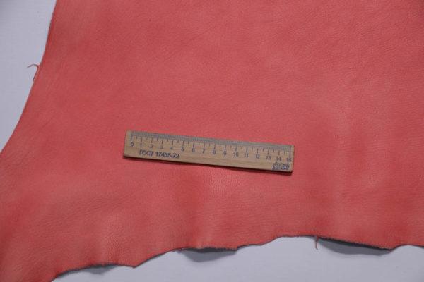 Кожа козы, розовая с лёгким мраморным эффектом, 50 дм2, Conceria Gaiera GIOVANNI S.p.A.-108830