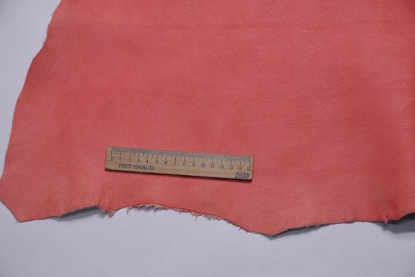 Кожа козы, розовая с лёгким мраморным эффектом, 48 дм2, Conceria Gaiera GIOVANNI S.p.A.-108832