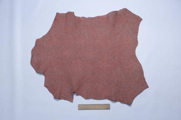 Велюр МРС (коза) с напылением, кораллово-красный, 28 дм2, S.I.C.E.R.P. S.p.A.-108871