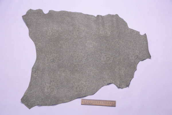 Велюр МРС (коза) с напылением, серо-зелёный, 25 дм2, S.I.C.E.R.P. S.p.A.-108875