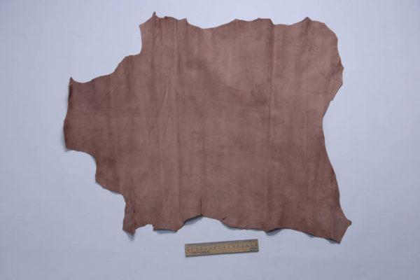 Велюр МРС (коза), грязно-розовый, 30 дм2, Derma S.r.l.-108894