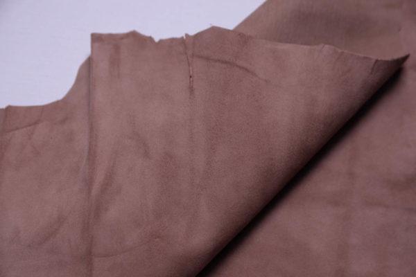 Велюр МРС (коза), грязно-розовый, 29 дм2, Derma S.r.l.-108896