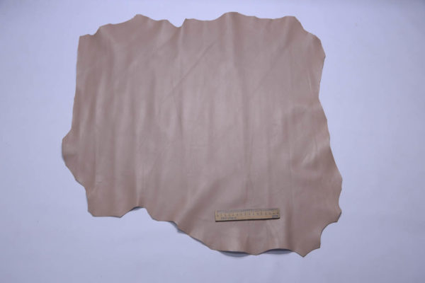 Кожа МРС, бежево-розовый, 43 дм2.-108901