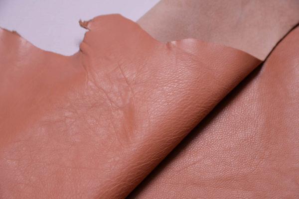 Кожа КРС, персиковая, 54 дм2.-108920