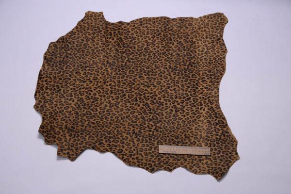 Велюр МРС, леопардовый, 35 дм2.-108926