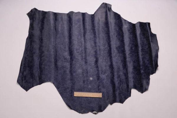 Кожа МРС, тёмно-синяя, 49 дм2.-108945