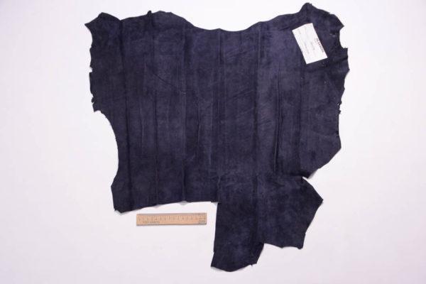 Замша МРС, тёмно-синяя, 30 дм2.-108946