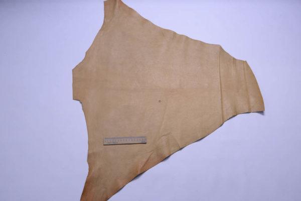 Кожа кенгуру анилиновая, песочная, 35 дм2, Conceria Cafra S.r.l.-108959
