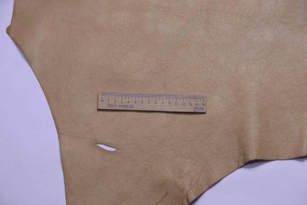 Кожа кенгуру анилиновая, песочная, 40 дм2, Conceria Cafra S.r.l.-108961