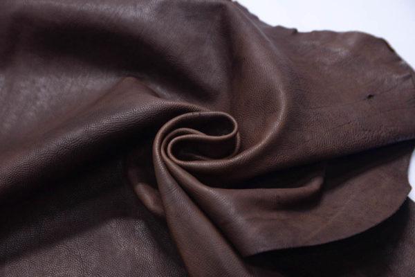 Кожа козы (краст), тёмно-коричневая, 64 дм2.-108982