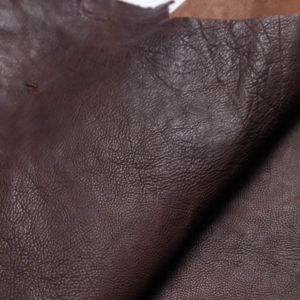 Кожа козы (краст), тёмно-коричневая, 58 дм2.-108983