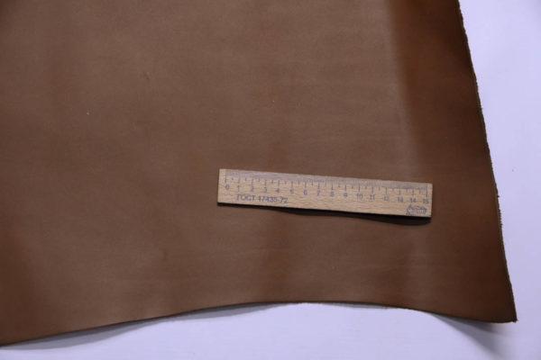 Кожа КРС, коричневая, 29 дм2.-108986
