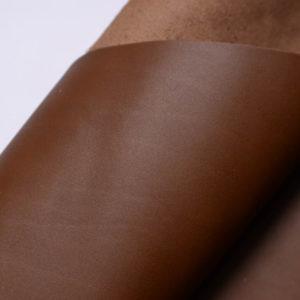 Кожа КРС, коричневая, 38 дм2.-108989