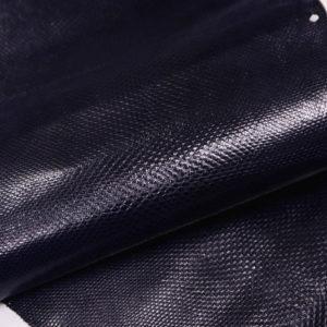 Кожа змеи (Karung), тёмно-синяя, 127х24 см.-zm4-13