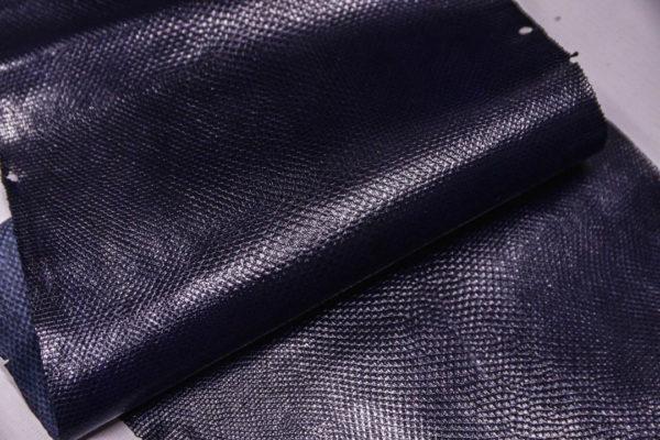 Кожа змеи (Karung), тёмно-синяя, 120х24 см.-zm4-16