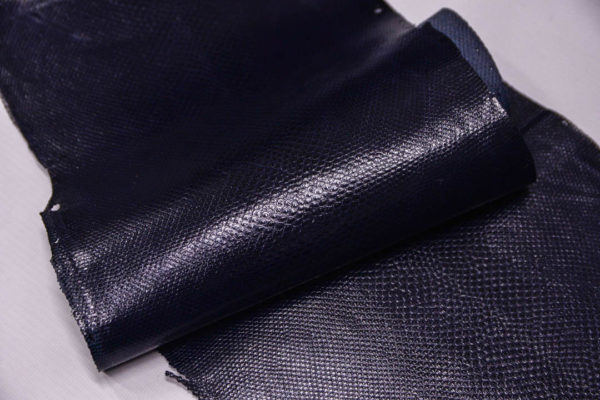 Кожа змеи (Karung), тёмно-синяя, 147х21 см.-zm4-17