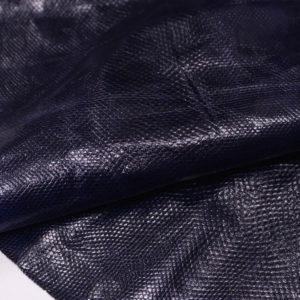 Кожа змеи (Karung), тёмно-синяя, 124х24 см.-zm4-18