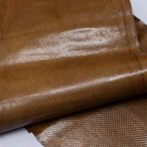 Кожа змеи (Karung), светло-коричневая, 146х23 см.-zm4-20