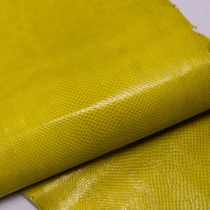 Кожа змеи (Karung), жёлтая, 145х21 см.-zm4-9