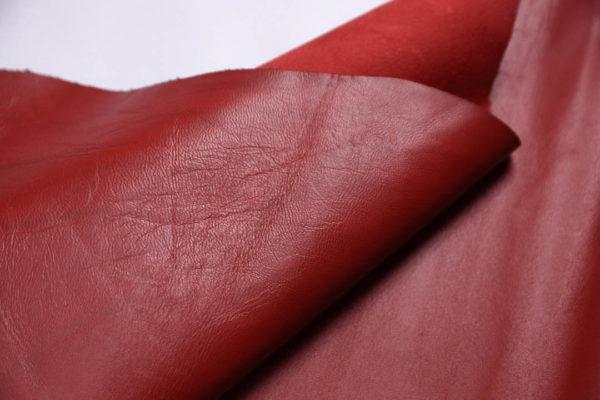 Кожа МРС, красная, 43 дм2.-109013