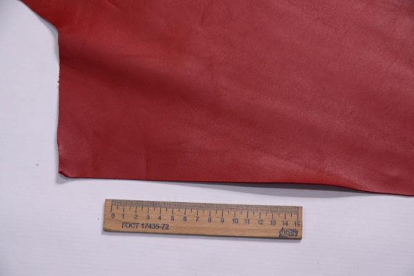 Кожа МРС, красная, 15 дм2.-109015