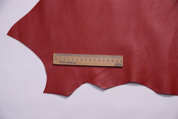 Кожа МРС, красная, 31 дм2.-109017