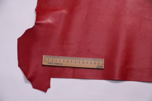 Кожа МРС, малиново-красная, 27 дм2.-109018