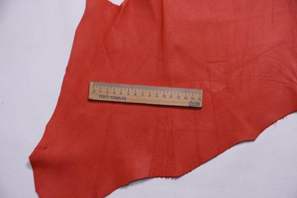 Кожа МРС, красная, 44 дм2, Conceria Gaiera GIOVANNI S.p.A.-109028