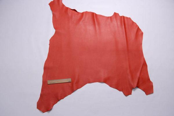 Кожа МРС, красная, 48 дм2, Conceria Gaiera GIOVANNI S.p.A.-109030