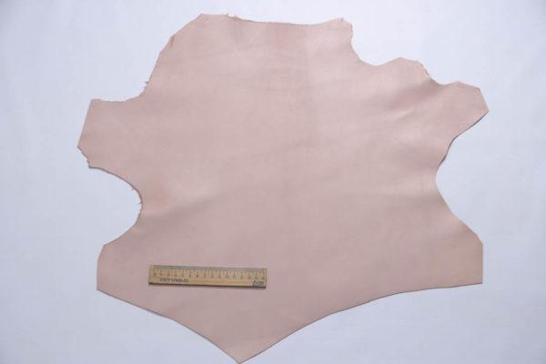 Кожа МРС, бледно-розовая, 21 дм2.-109042