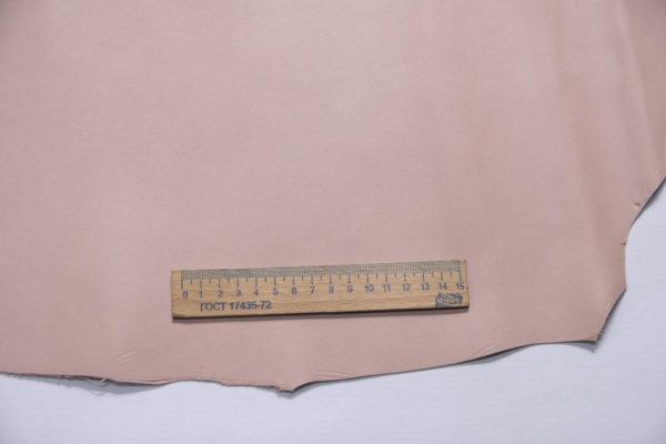 Кожа МРС, бледно-розовая, 25 дм2.-109050
