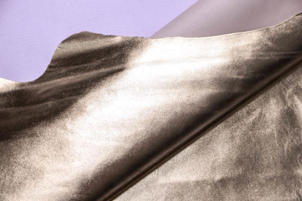 Кожа МРС, светлое золото, 62 дм2.-109059