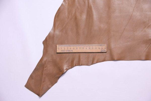 Кожа МРС, светло-коричневая, 39 дм2, Russo di Casandrino S.p.A.-109082