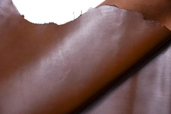 Кожа МРС, коричневая, 38 дм2, Conceria Stefania S. p. A.-109086