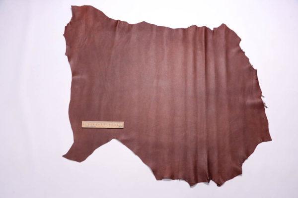 Кожа КРС (склизок), коричневый, 49 дм2, Russo di Casandrino S.p.A.-109091