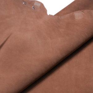 Нубук КРС (склизок), светло-коричневый, 50 дм2.-109094