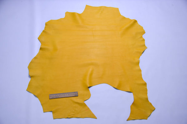 Кожа МРС, жёлтая, 40 дм2, Russo di Casandrino S.p.A.-109125