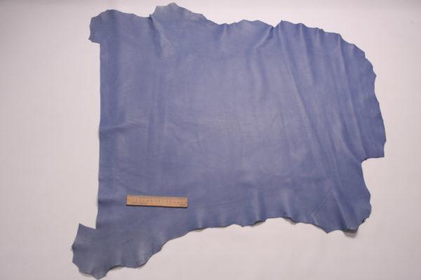 Кожа МРС, тёмно-голубая, 52 дм2, Russo di Casandrino S.p.A.-109130