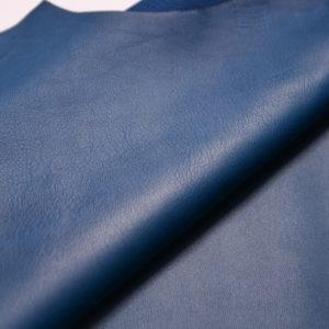 Кожа МРС, синяя с бирюзой, 58 дм2, Russo di Casandrino S.p.A.-109133