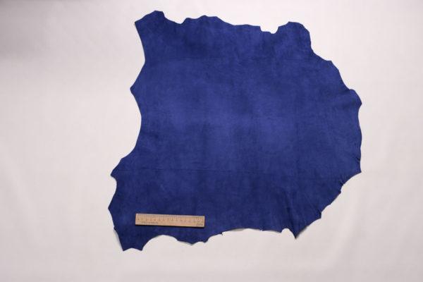Велюр МРС (коза), ярко-синий, 31 дм2, Derma S.r.l.-109149