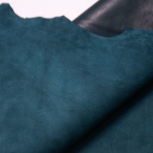 Велюр МРС (коза), тёмно-бирюзовый, 35 дм2, Derma S.r.l.-109164