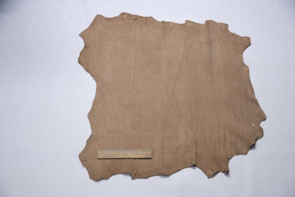 Велюр МРС, тёмно-бежевый, 30 дм2, Conceria Stefania S. p. A.-109185