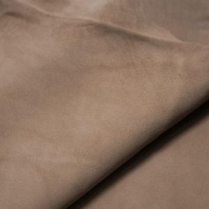 Велюр МРС, тёмно-бежевый, 31 дм2, Conceria Stefania S. p. A.-109186
