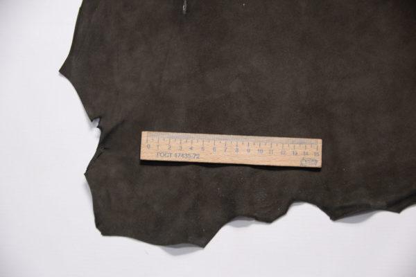 Велюр МРС, тёмно-коричневый, 37 дм2.-109190