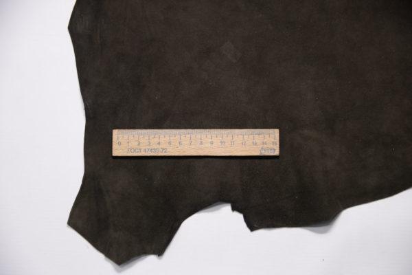 Велюр МРС, тёмно-коричневый, 36 дм2.-109191