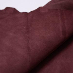 Велюр МРС, светло-бордовый, 32 дм2, Conceria Stefania S. p. A.-109197