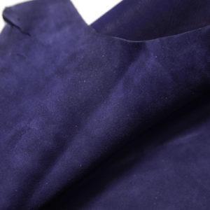 Велюр МРС (коза), синий, 37 дм2.-109204