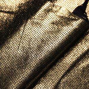 Велюр МРС с принтом и перфорацией, золото, 15 дм2, Tari S.p.A.-109215