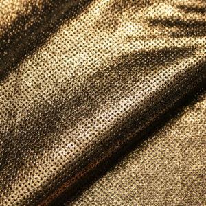 Велюр МРС с принтом и перфорацией, золото, 57 дм2, Tari S.p.A.-109216
